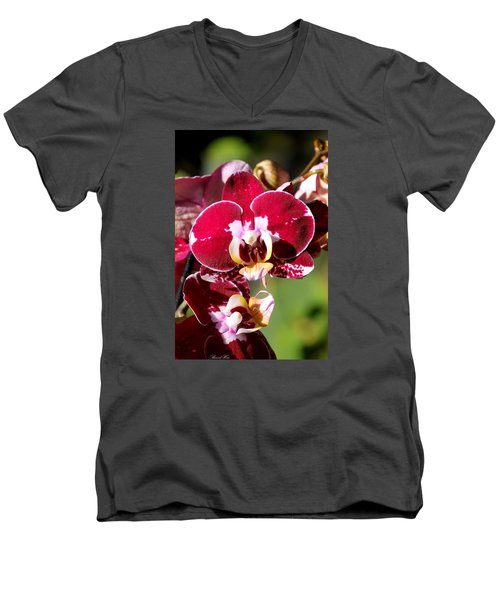 Flower Edition Men's V-Neck T-Shirt