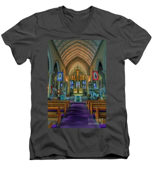Gods Light Men's V-Neck T-Shirt