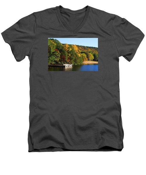 Hanging Rock Lake Men's V-Neck T-Shirt