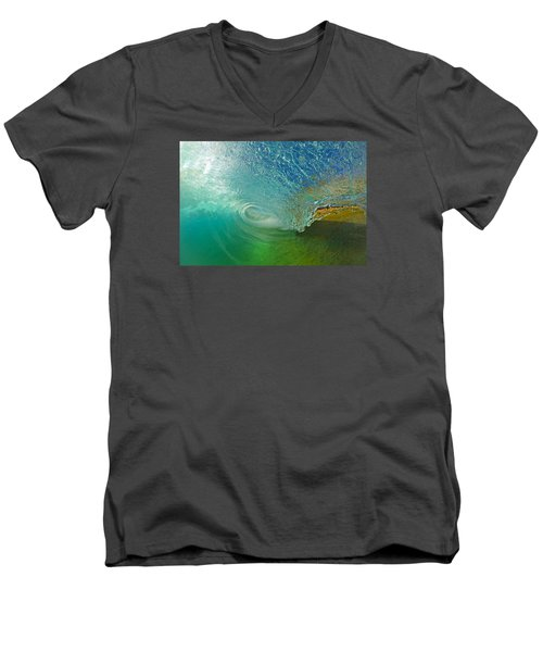 In The Tube Men's V-Neck T-Shirt by James Roemmling