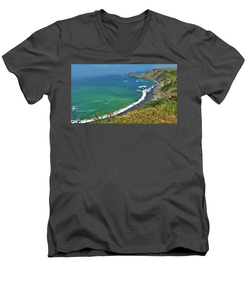 Irish Beach Men's V-Neck T-Shirt