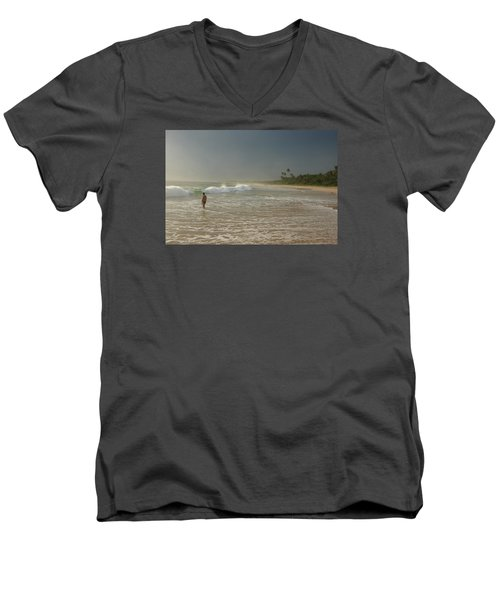Long Beach Kogalla Men's V-Neck T-Shirt