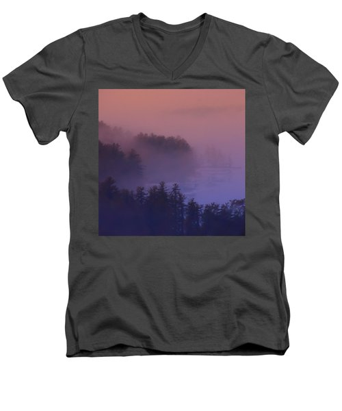 Melvin Bay Fog Men's V-Neck T-Shirt