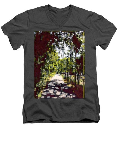 On The Path Men's V-Neck T-Shirt