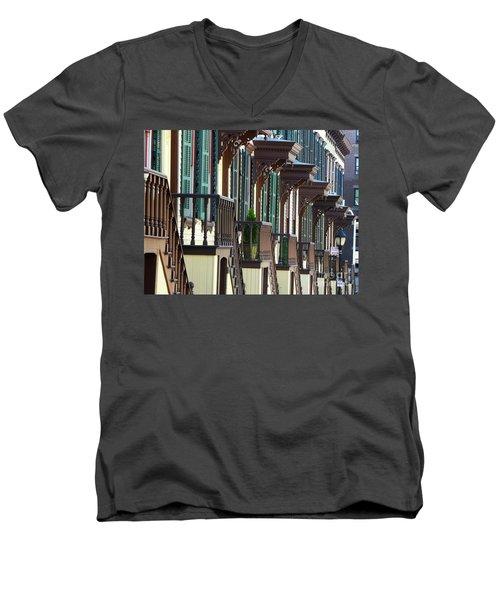 Sylvan Terrace Men's V-Neck T-Shirt