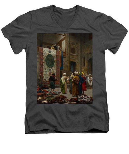 The Carpet Merchant Men's V-Neck T-Shirt