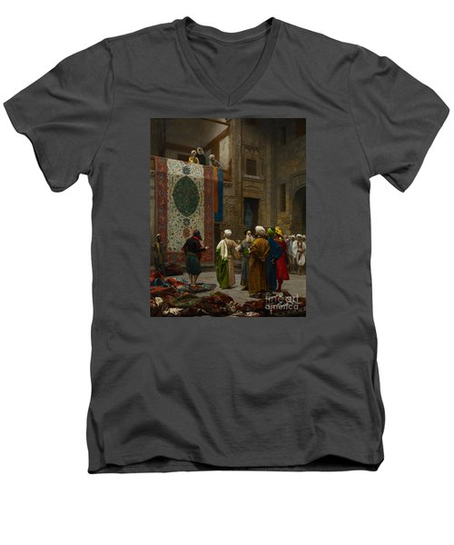 The Carpet Merchant Men's V-Neck T-Shirt