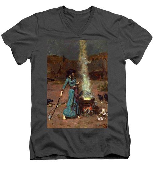 The Magic Circle Men's V-Neck T-Shirt