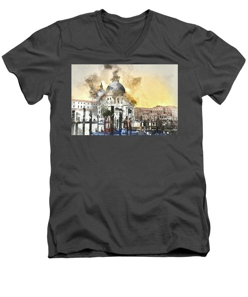 Venice Italy Men's V-Neck T-Shirt