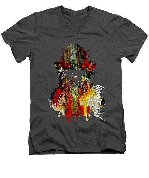 Neil Young Collection Men's V-Neck T-Shirt