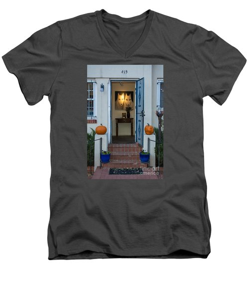 415 Canyon Road Men's V-Neck T-Shirt
