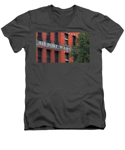 428 Port Warehouse Men's V-Neck T-Shirt