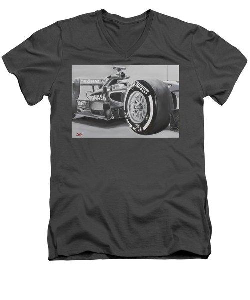 #44 Men's V-Neck T-Shirt