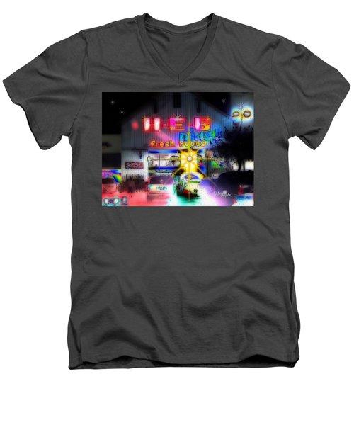 #4570_heb_1_arty Men's V-Neck T-Shirt