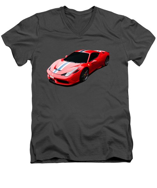 458 Speciale Men's V-Neck T-Shirt