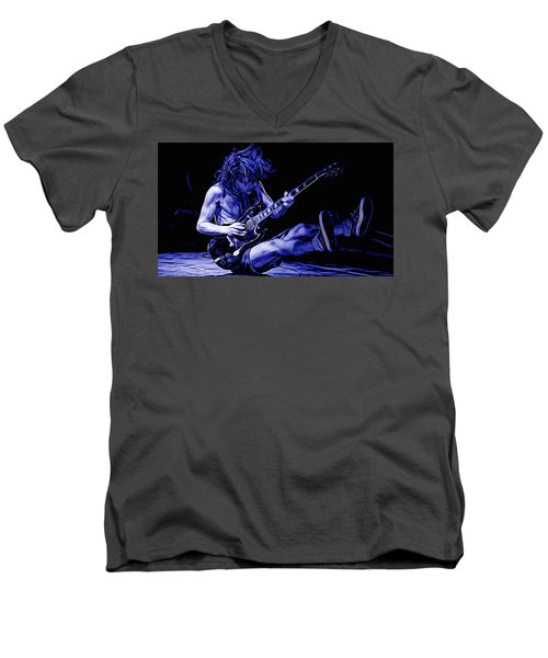 Acdc Collection Men's V-Neck T-Shirt