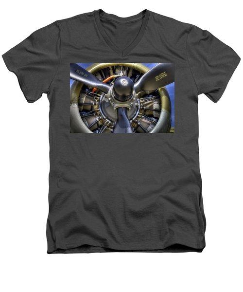 B-17 Men's V-Neck T-Shirt