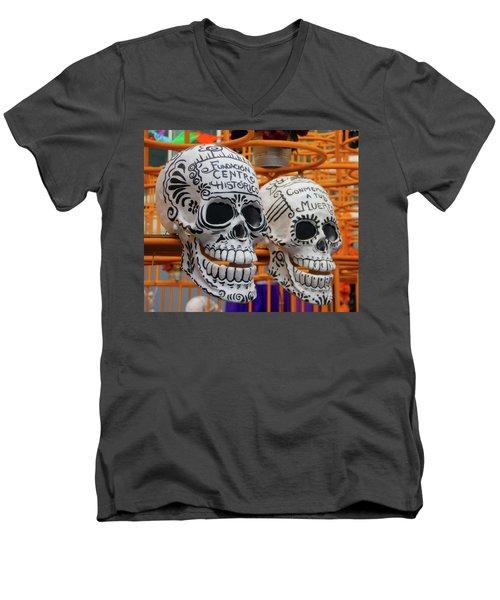 Mexico City Men's V-Neck T-Shirt