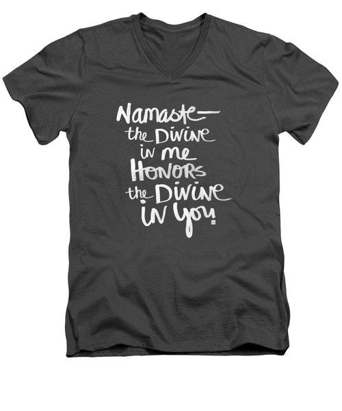 Namaste Men's V-Neck T-Shirt