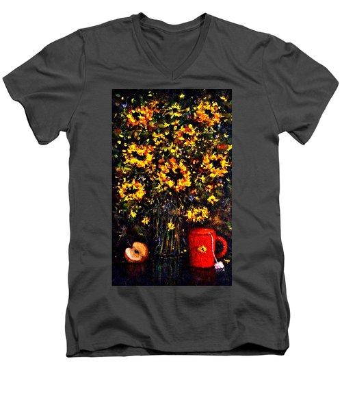 5 O'clock Men's V-Neck T-Shirt