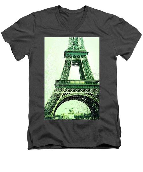 Ponte D'lena Sculpture Men's V-Neck T-Shirt by JAMART Photography