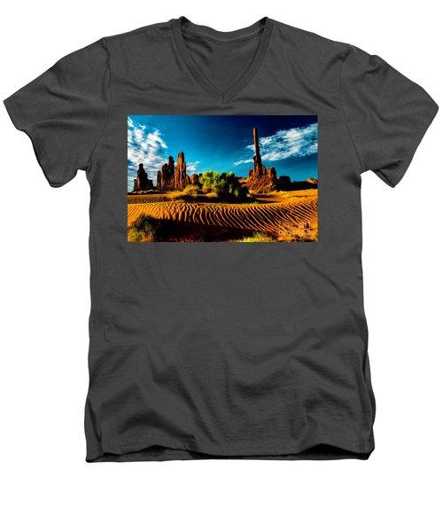 Sand Dune Men's V-Neck T-Shirt