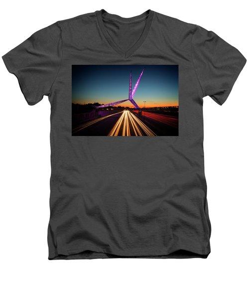 Skydance Men's V-Neck T-Shirt