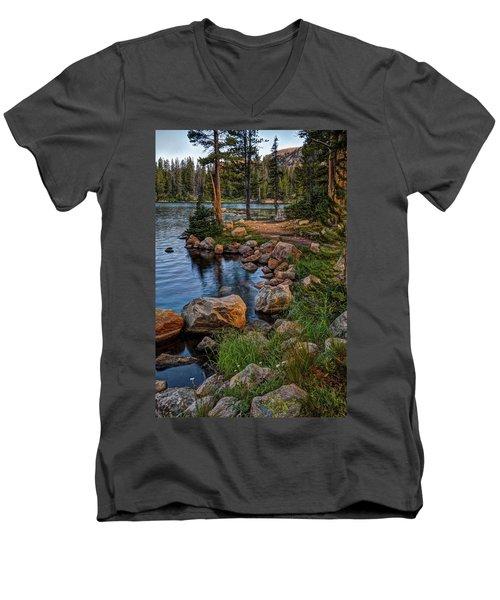 Uinta Mountains, Utah Men's V-Neck T-Shirt