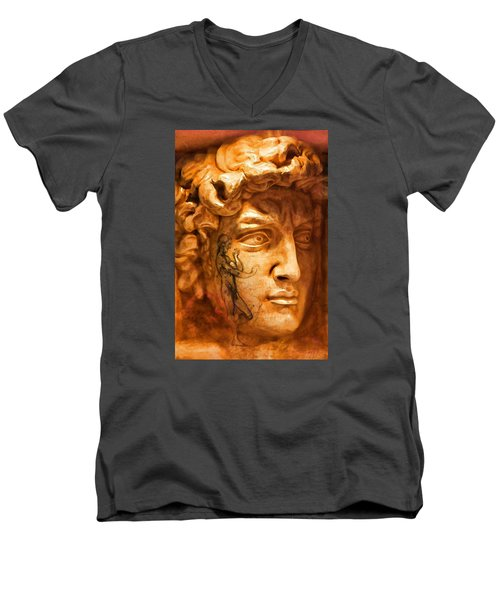 Venice Untitled Men's V-Neck T-Shirt by Brian Davis
