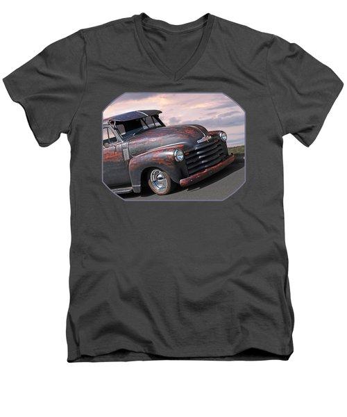 51 Chevy Men's V-Neck T-Shirt
