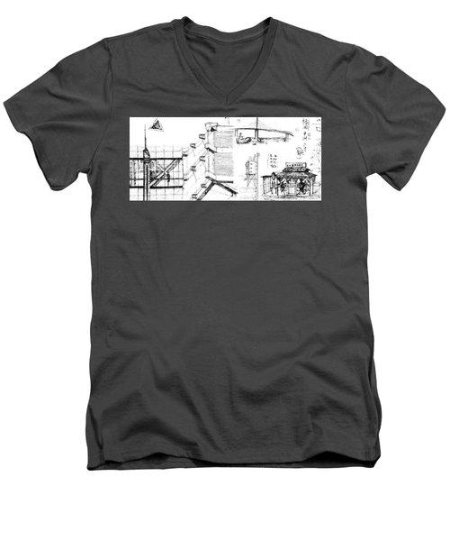 5.32.japan-7-detail-b Men's V-Neck T-Shirt