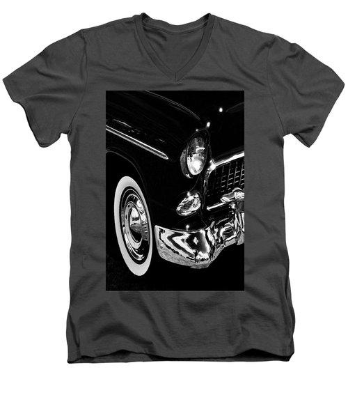 55 B Men's V-Neck T-Shirt