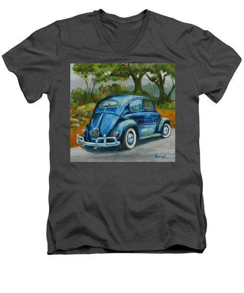 57 Vee Dub Men's V-Neck T-Shirt by William Reed