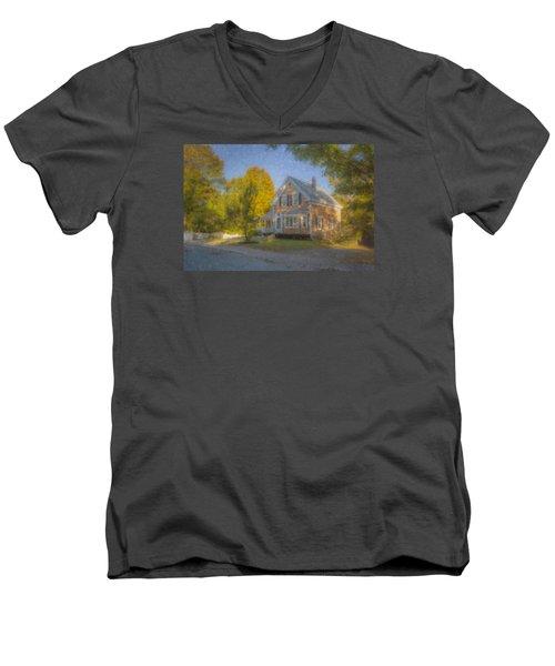 59 Williams Street Easton Ma Men's V-Neck T-Shirt