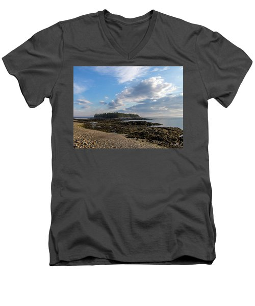 Men's V-Neck T-Shirt featuring the photograph Acadia National Park by Trace Kittrell