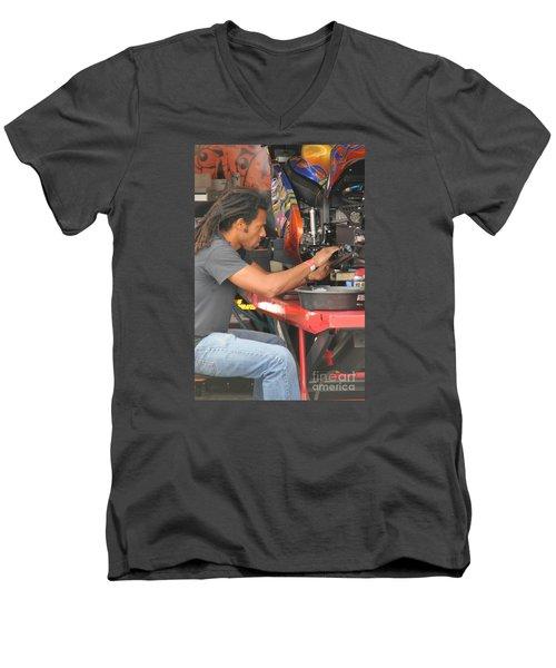 Dme Terence Angela Men's V-Neck T-Shirt
