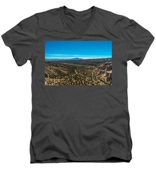 Kasha-katuwe Tent Rocks Men's V-Neck T-Shirt