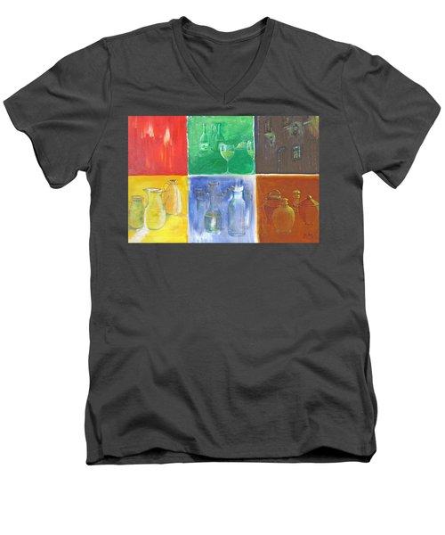 6 Panes Of Existence Men's V-Neck T-Shirt