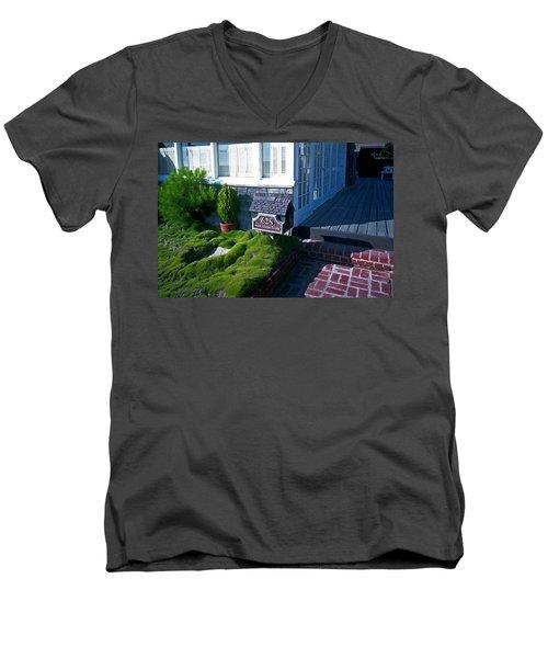 628 West Ocean Front Men's V-Neck T-Shirt