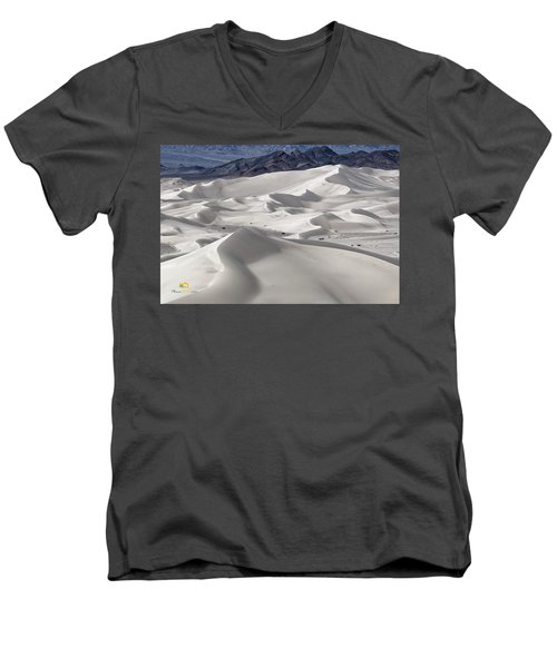 Dumont Dunes 8 Men's V-Neck T-Shirt