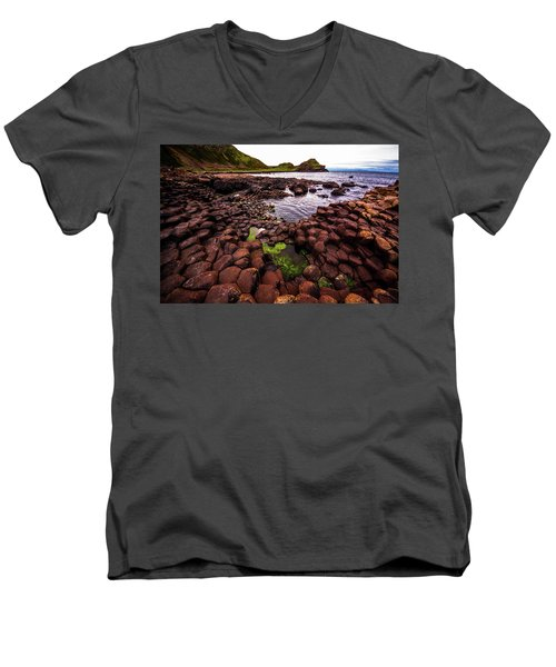 Giant's Causeway Men's V-Neck T-Shirt