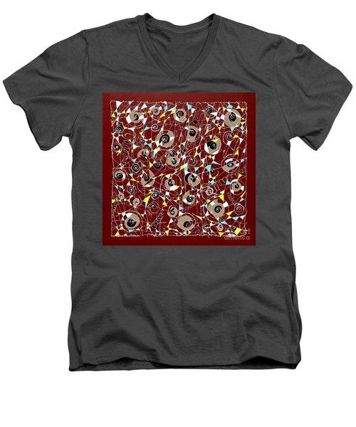 #7 Men's V-Neck T-Shirt