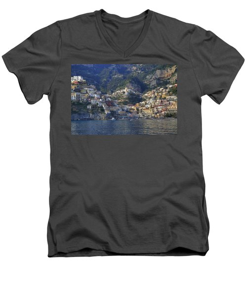 Positano - Amalfi Coast Men's V-Neck T-Shirt