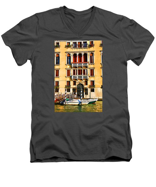 Venice - Untitled Men's V-Neck T-Shirt by Brian Davis