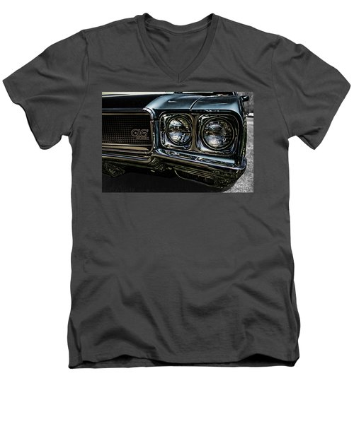 '70 Buick Gs Men's V-Neck T-Shirt