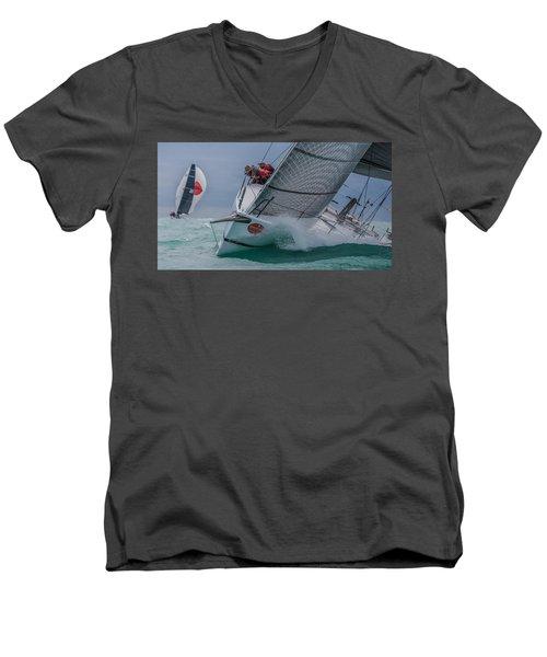 Watercolors Men's V-Neck T-Shirt