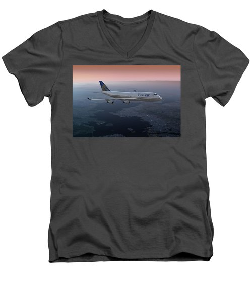 747twilight Men's V-Neck T-Shirt