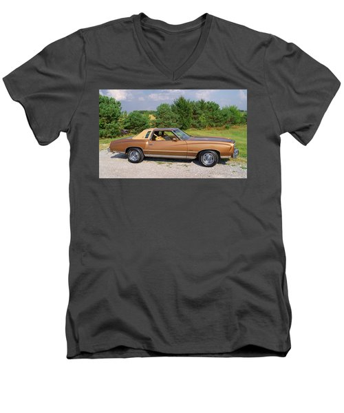 76 Monte Carlo Men's V-Neck T-Shirt