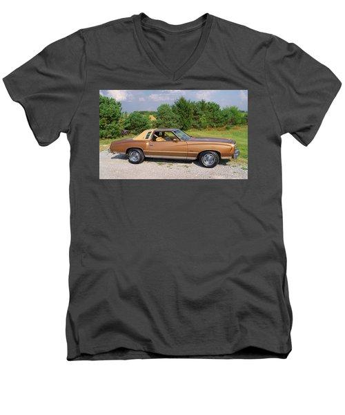 76 Monte Carlo Men's V-Neck T-Shirt