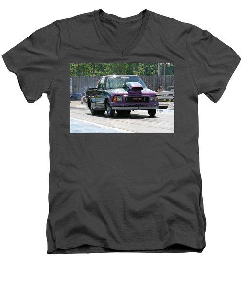 7874 06-15-15 Esta Safety Park Men's V-Neck T-Shirt